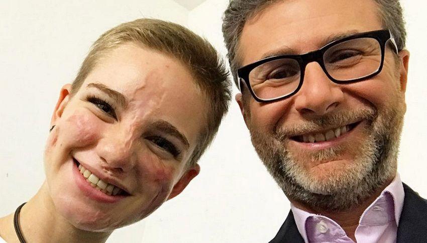 Bebe Vio a Che tempo che fa racconta il selfie con Obama