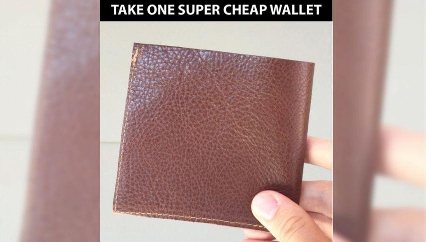 Paura dei furti? Arriva il portafoglio fai da te anti borseggiatori