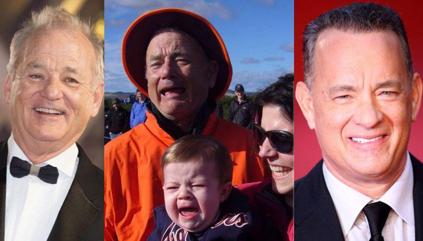 Nuovo rompicapo della rete: chi piange, Bill Murray o Tom Hanks?