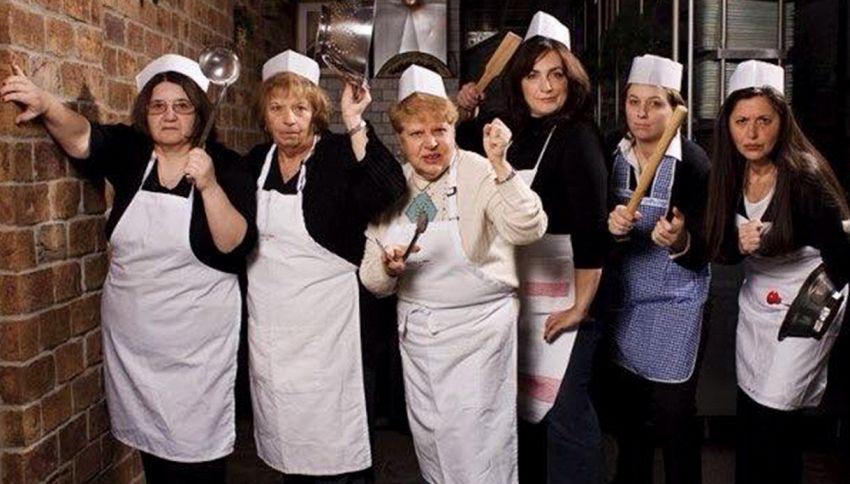 Ecco il ristorante dove cucinano solo delle nonne