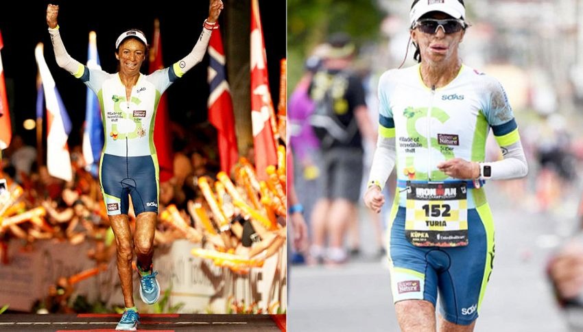 Bruciata viva in un incendio, completa il triathlon più duro al mondo