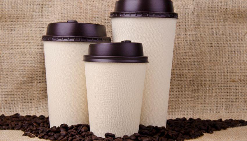 Perch il coperchio dei bicchieri da caff bucato for Bicchieri caffe