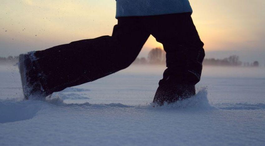Quanto fa bene correre d'inverno?
