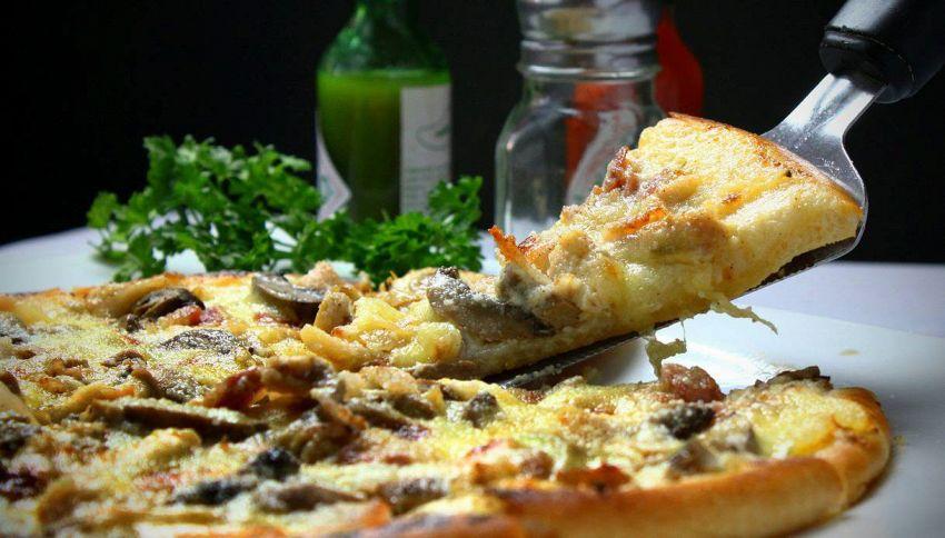 Quanto pesa una pizza a seconda del tipo?
