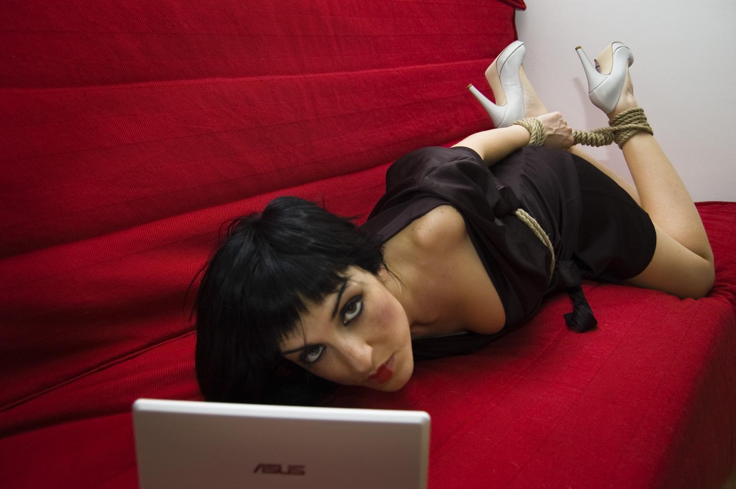 Связывание и бондаж русское, Русский бондаж - видео Yo-Sex 23 фотография