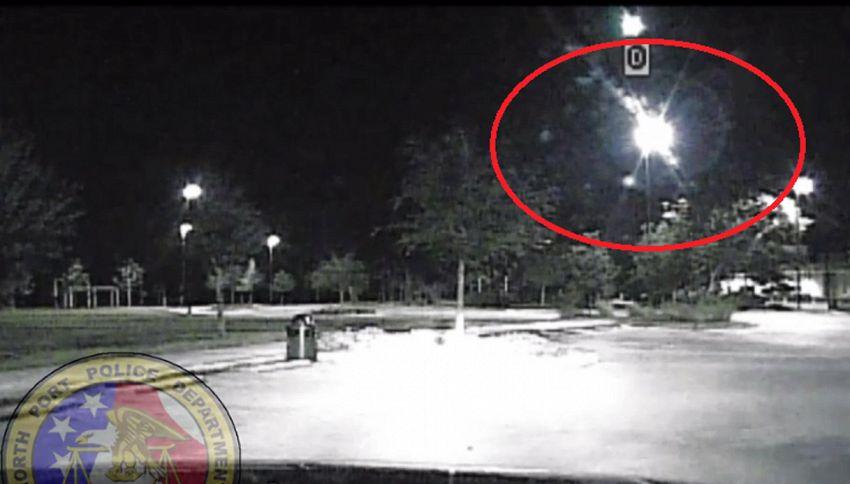 Il mistero della palla di fuoco in piena notte