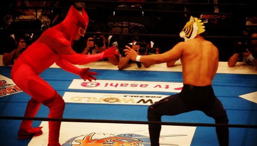 Wrestling: sul ring torna l'uomo tigre in carne ed ossa