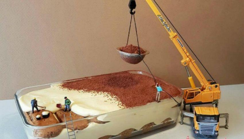 I Dolci di Gulliver, pasticciere italiano crea diorami da leccarsi i baffi