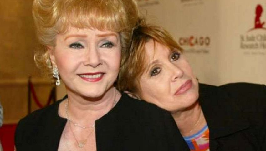 Addio a Debbie Reynolds, non ha retto la morte di Carrie Fisher