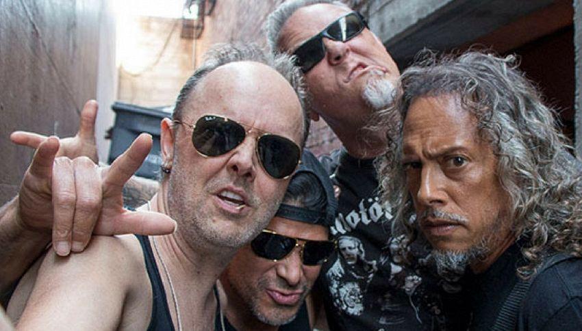 Il live dei Metallica è nel supermercato al banco dei salumi