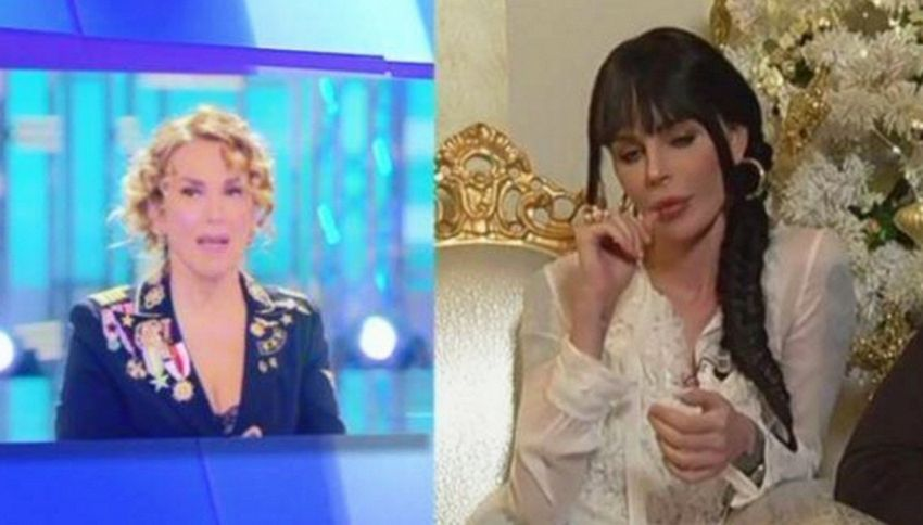 Nina Moric difende Lapo Elkann in diretta