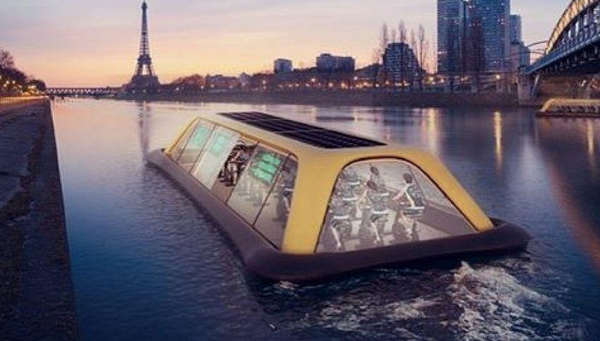 Ecco la palestra galleggiante alimentata ad energia umana