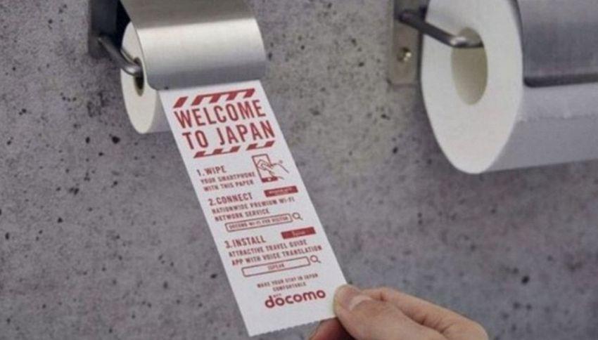 Giappone, arriva la carta igienica per smartphone