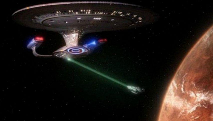 La Nasa sta sperimentando davvero il raggio traente di Star Trek
