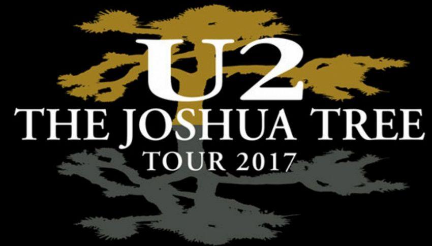 U2 in Tour nel 2017, unica data Italiana a Roma il 15 luglio