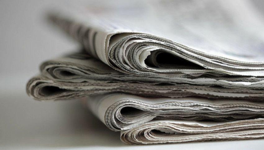 Compra una pagina del Corriere per fare gli auguri al padre