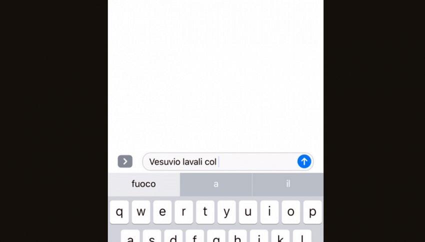 Il correttore automatico di Apple ce l'ha con i napoletani