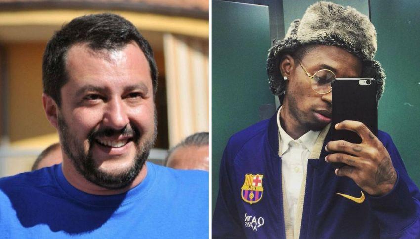 """Salvini a Bello Figo: """"Vai a raccogliere banane e cotone"""""""