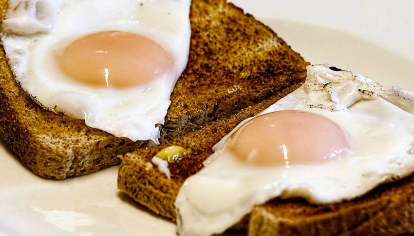 Volete un cervello sano? Mangiate uova a colazione