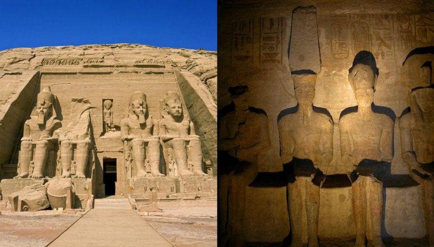 In Egitto si ripete il miracolo del sole e del Faraone Ramses