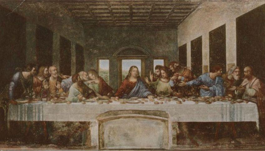 I simboli nascosti nell'Ultima Cena di Leonardo