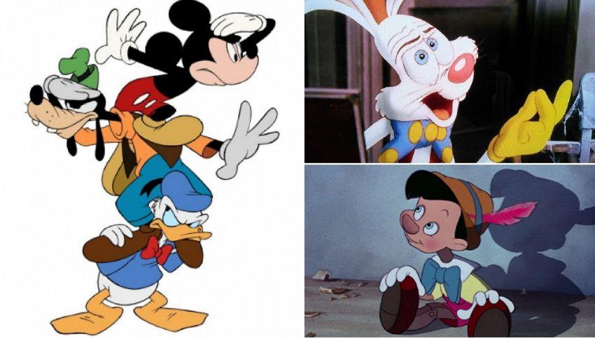 Ecco perché i personaggi dei cartoni animati hanno