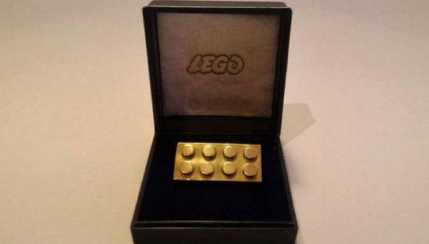Asta record: mattoncino Lego venduto a 19mila euro