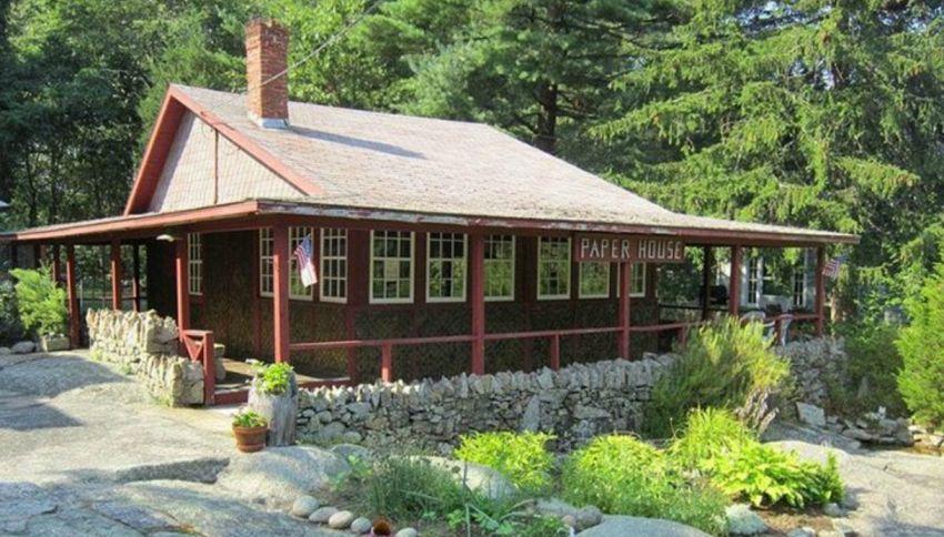 La lussuosa casa di carta che resiste dal 1922