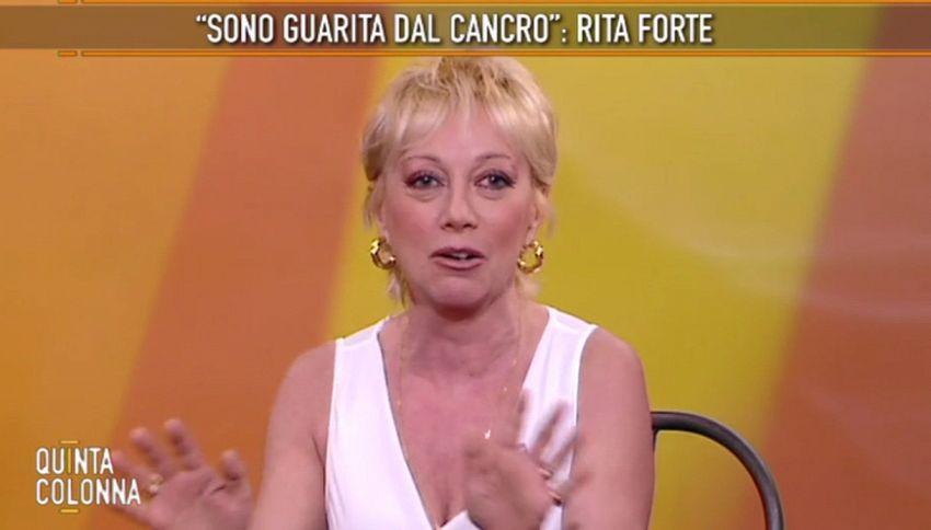 """Rita Forte: """"Guarita dal cancro grazie alla Mondaini"""""""