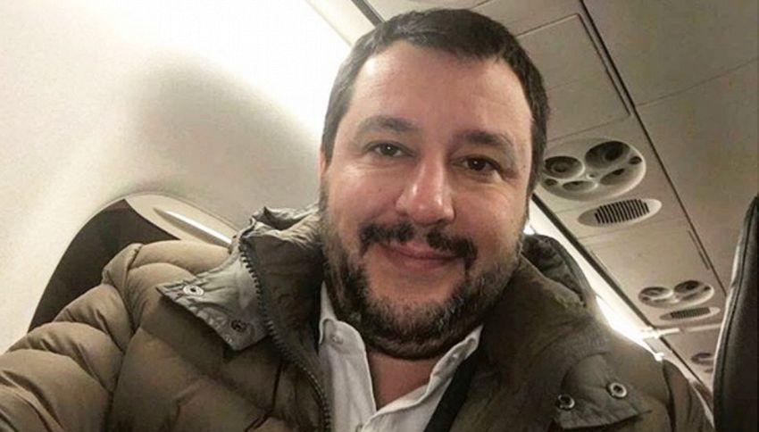 """Salvini risponde a Crozza: """"Un milionario che fa la morale"""""""