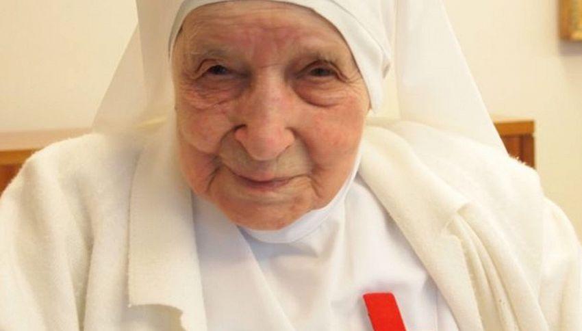 Ha 110 anni la suora più anziana d'Italia (e forse del mondo)