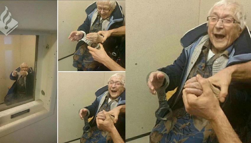 Olanda, arrestano nonna di 100 anni per realizzare il suo sogno