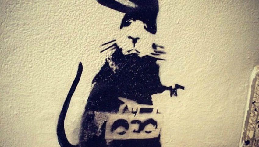 Banksy: imbianchini rimuovono per sbaglio opera da 4 milioni