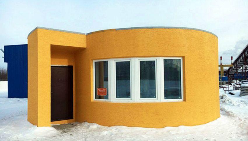 Questa casa è stata costruita in 24 ore con una stampante 3D