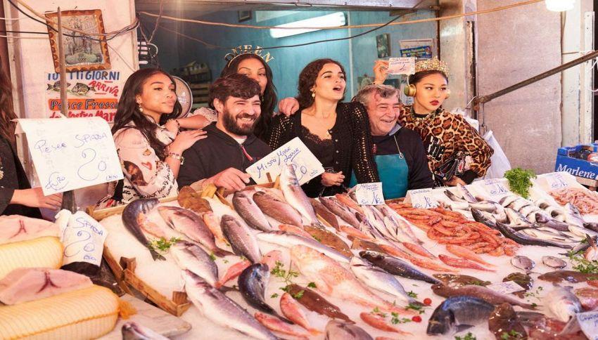 Dolce&Gabbana a Palermo per girare il nuovo spot