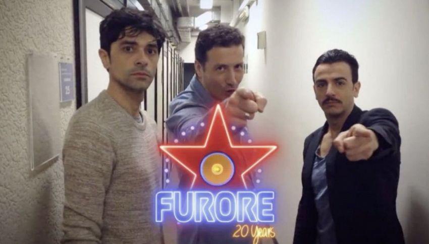 Il ritorno di Furore in tv con Alessandro Greco, Gigi & Ross