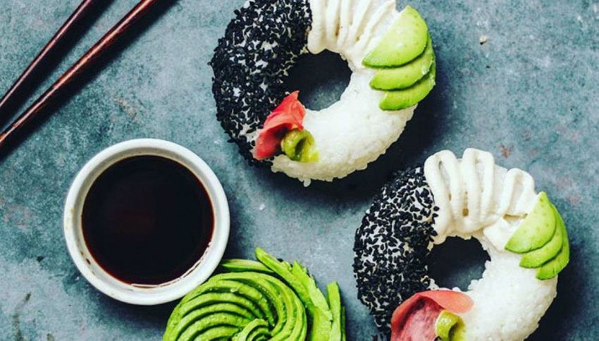 Non potrai più fare a meno del sushi a forma di ciambella