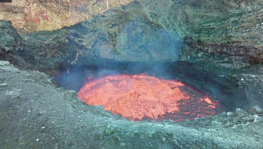 Esplorare l'interno di un vulcano attivo? Oggi si può
