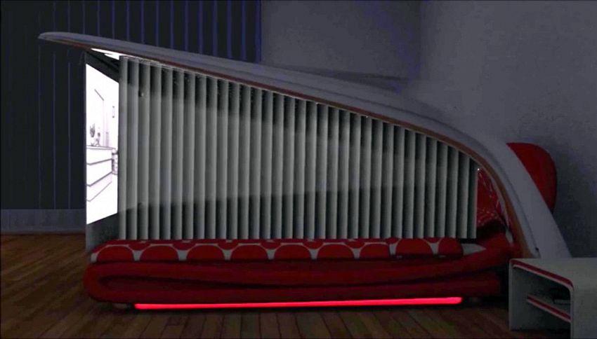 Alla scoperta del letto che si trasforma in cinema