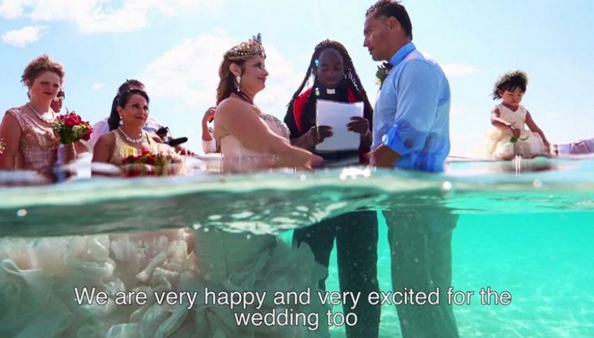 Il matrimonio quasi impossibile è stato alla fine realizzato
