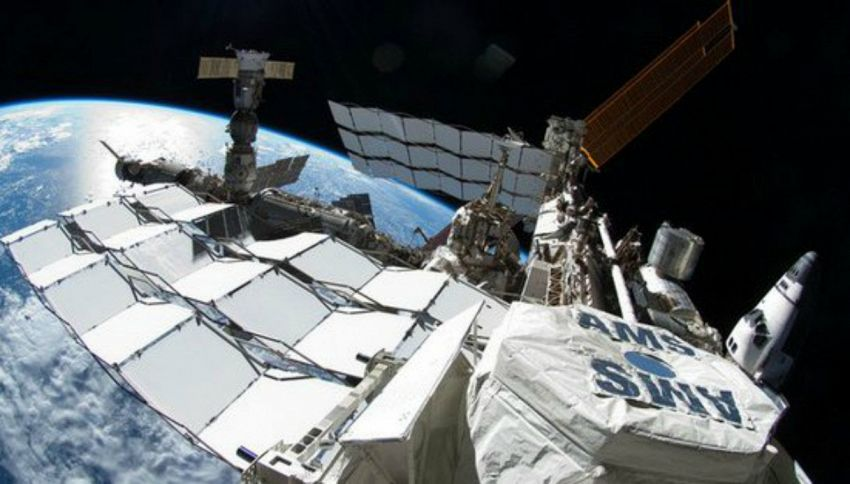 Spazio: catturati i primi atomi di antimateria cosmica
