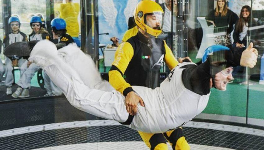 Aero Gravity apre al pubblico: ora si può volare