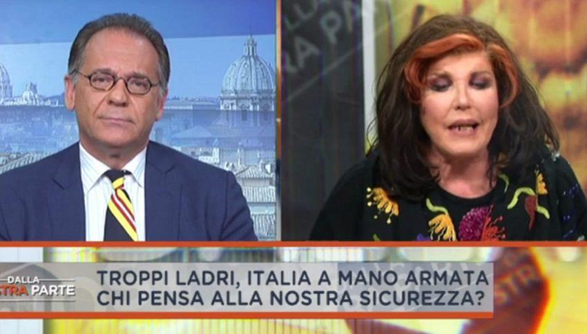 Rissa Cecchi Paone-De Blanck: insulti e offese in diretta tv