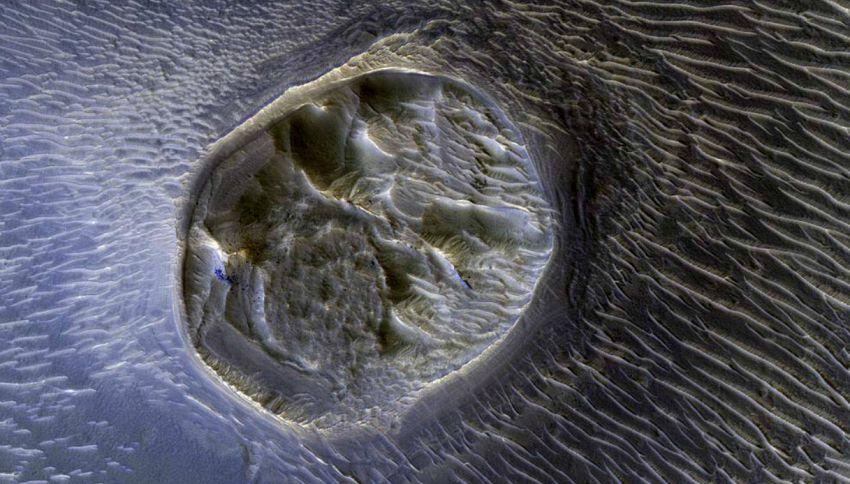 I cacciatori di ufo scoprono un'intera città aliena su Marte