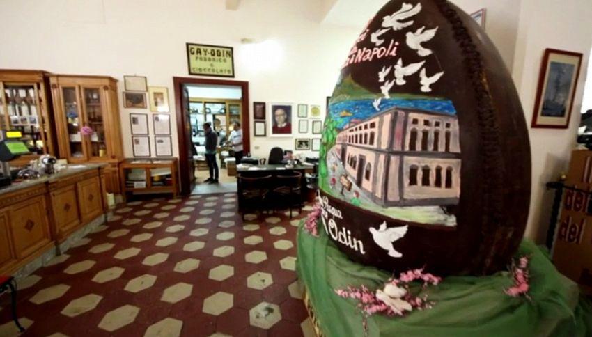 Uovo di Pasqua esagerato: pesa 300 chili