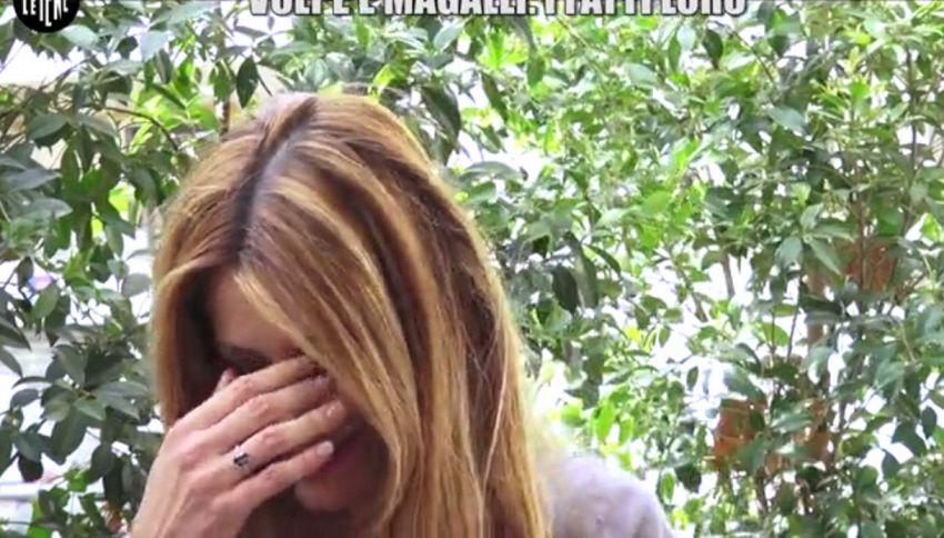 Adriana Volpe in lacrime a Le Iene: Magalli deve chiedermi scusa