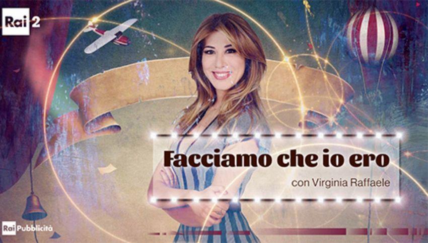 Virginia Raffaele torna in tv con 'Facciamo che io ero'