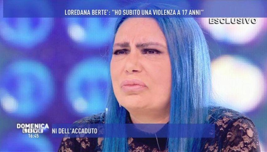 """Loredana Bertè: """"Sono stata violentata da ragazza"""""""