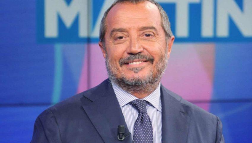 Franco Di Mare, rientro a sorpresa alla guida di Unomattina