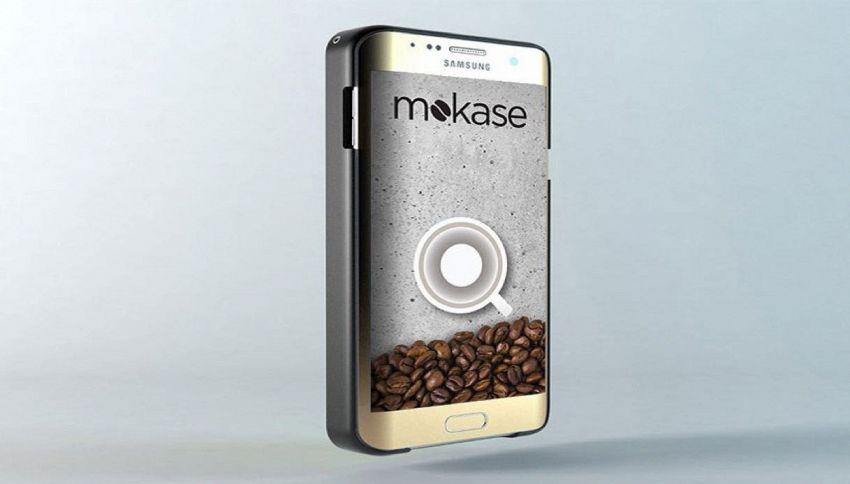 Mokase, la cover che trasforma lo smartphone in una caffettiera